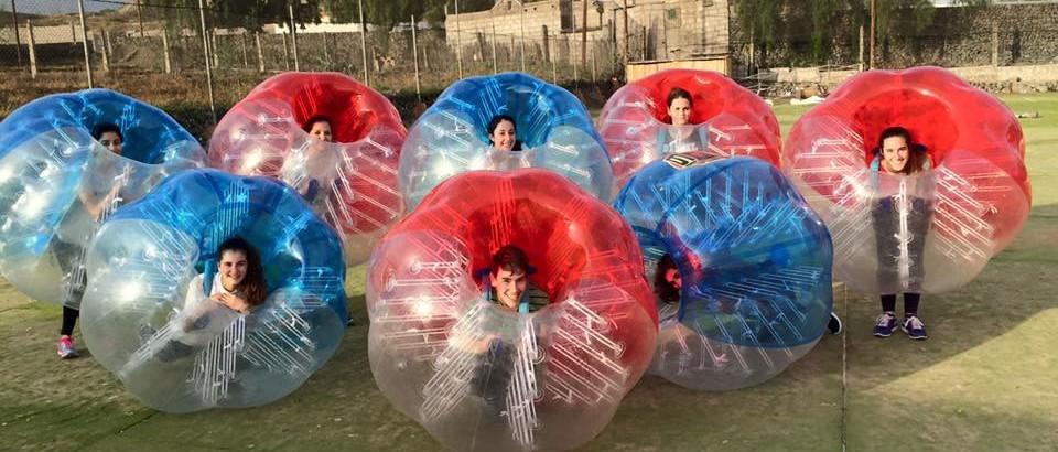 Lunes 1 Febrero. Fútbol burbuja