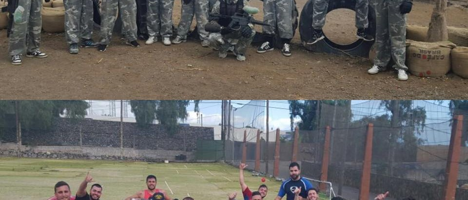 Pack Paintball + Futbol Burbuja