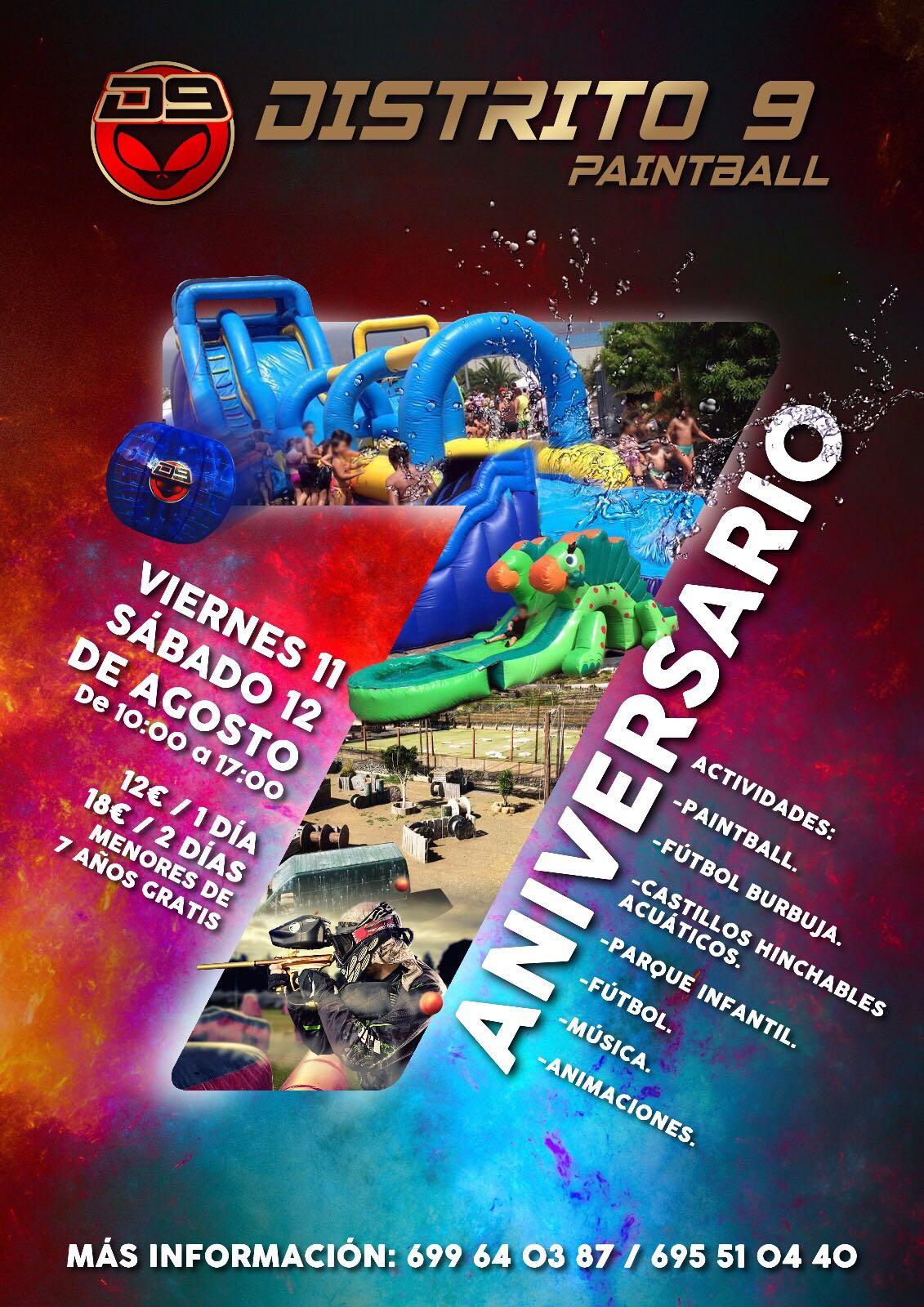 Aniversario Distrito 9 Paintball
