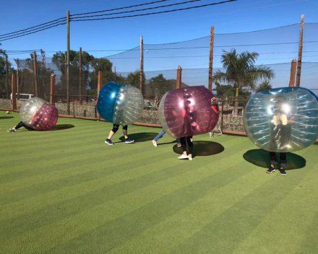 fútbol burbuja en tenerife