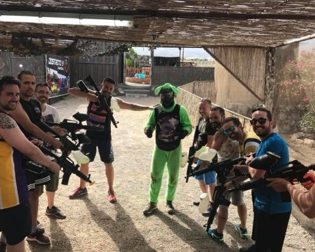 CAMPO ADULTOS PAINTBALL TENERIFE