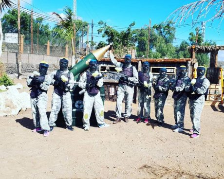 CAMPO ADULTOS - PAINTBALL TENERIFE