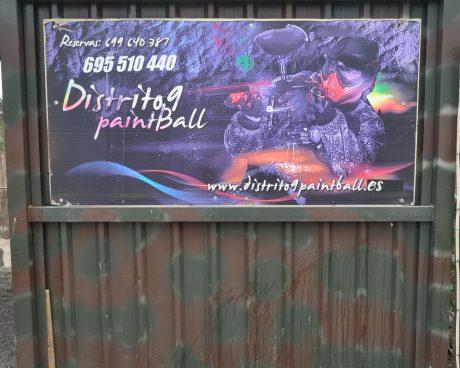 Instalaciones distrito 9 paintball tenerife