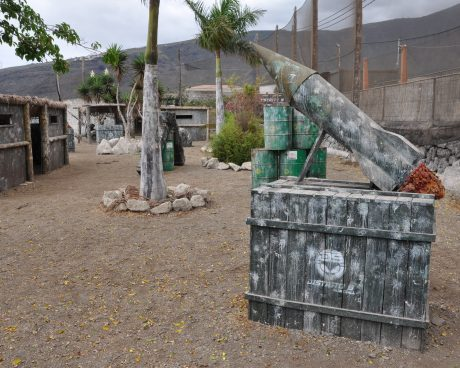Campo Paintball tenerife adulto