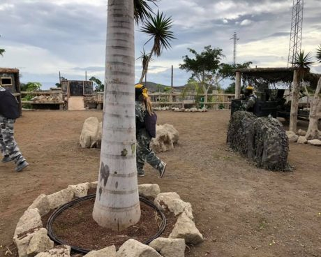 campo de paintball canarias