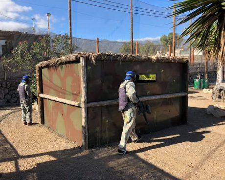 campo paintball adultos en tenerife