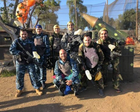 equipo paintball adulto en tenerife