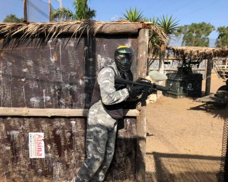 jugador adulto paintball tenerife