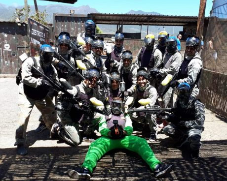jugadores de paintball adulto tenerife